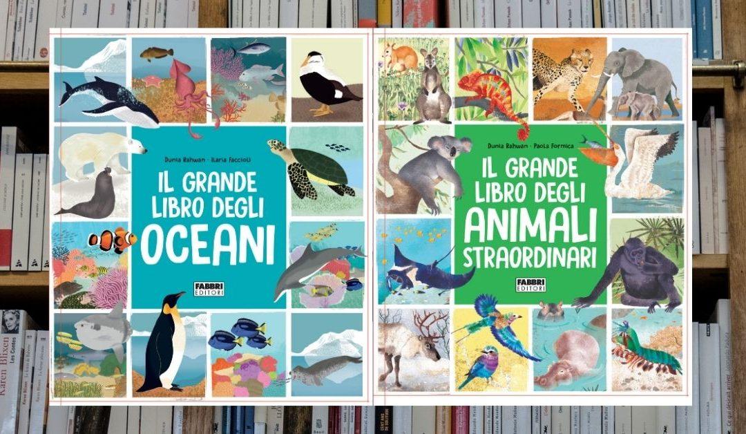 Oceani e Animali Straordinari: due grandi libri destinati ai ragazzi curiosi di scoprire la natura