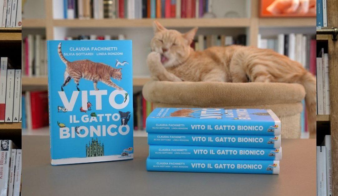 Vito il gatto bionico: storia di un gatto speciale, che ha perso due zampe ma non la serenità