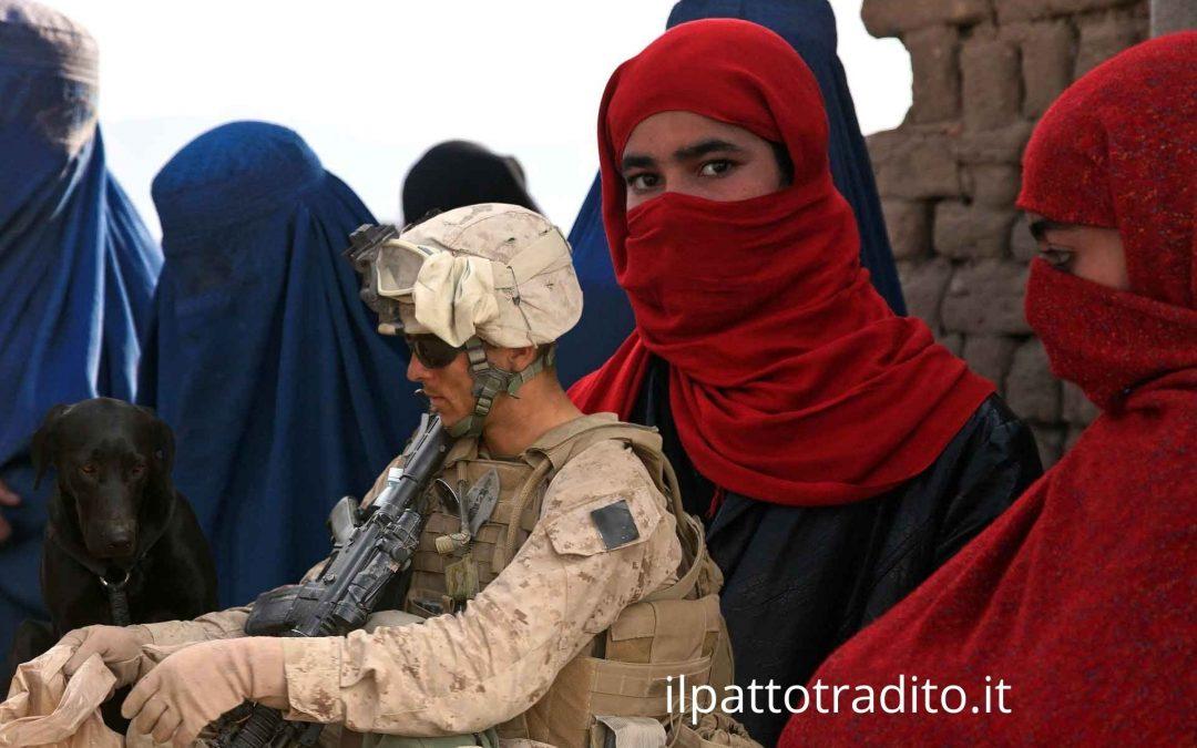 Abbiamo abbandonato donne e animali in Afghanistan, in balìa dei fanatici religiosi